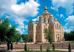 Церква в місті Черкаси