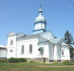 Варварівська церква Лебединського монастиря у Шполянському районі