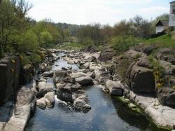 Краєвиди річки Рось біля міста Корсунь-Шевченківський