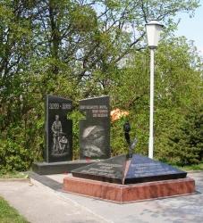 Пам'ятник воїнам-афганцям в місті Корсунь-Шевченківський