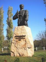 Пам'ятник Максиму Залізняку в селі Медведівка Чигиринського району