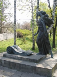 Пам'ятник на могилі І.М.Сошенка у місті Корсунь-Шевченківський