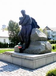 Пам'ятник Т.Г. Шевченку в місті Корсунь-Шевченківський