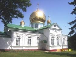 Свято-Миколаївська церква Лебединського монастиря у Шполянському районі