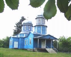 Церква Вознесіння Господнього в селі Петрівка Монастирищенського району