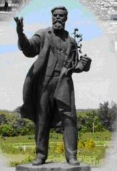 Пам'ятник Л.П.Симеренку у селі Мліїв Городищенського району