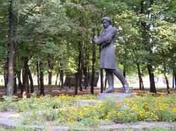 Пам'ятник О.С.Пушкіну в місті Кам'янка