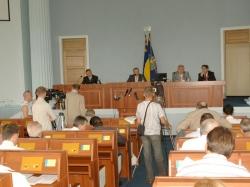 Фоторепортаж. IV сесія обласної ради.
