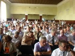 Фоторепортаж. Нарада сільських і селищних голів у с. Водяне Шполянського району.