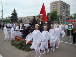 Фоторепортаж. Черкащина відзначила 67-му річницю Великої Перемоги.