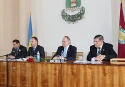 Володимир Вовченко взяв участь у роботі сесії Смілянської районної ради