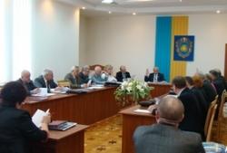 Голова обласної провів засідання президії