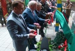 Голова обласної ради взяв участь у відкритті пам'ятного знака прикордонникам