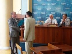 Архітекторів Черкащини привітали з професійним святом