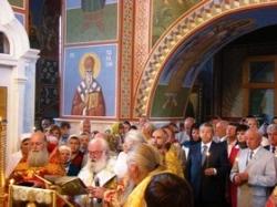 У Канівському Успенському соборі освятили новий іконостас