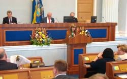 Фоторепортаж. Засідання двадцять п'ятої сесії обласної ради.