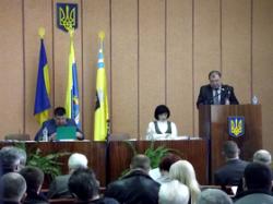 Голова Канівської районної ради прозвітував про роботу депутатського корпусу за 2013 рік