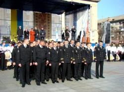 Фоторепортаж. Члени екіпажу морського тральщика «Черкаси» відвідали  Черкащину.
