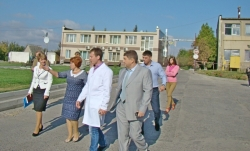 Фоторепортаж. Голова обласної ради побувала з робочим візитом на Тальнівщині.