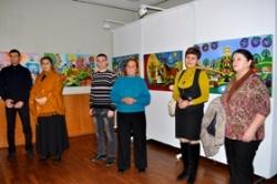 В обласному художньому музеї – свято народної картини