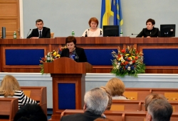 Фоторепортаж. Тридцять шосте пленарне засідання сесії обласної ради.
