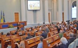 Фоторепортаж. Голова обласної ради прозвітувалася перед громадськістю про рік роботи на посаді.