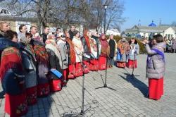Фоторепортаж. На Черкащинині вшанували Кобзаря.