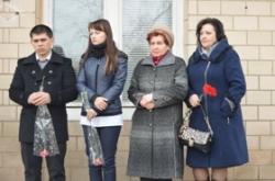 Валентина Коваленко взяла участь у відкритті пам'ятних дощок Заслуженим лікарям України