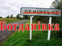 Перейменування населених пунктів Черкащини підтримала Верховна Рада