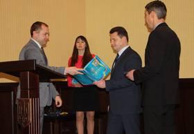 ddb29715c07cfd Голова обласної ради привітав працівників Служби безпеки України із  професійним святом