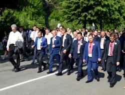 Фоторепортаж. Українці з різних куточків світу відзначили 155-у річницю із дня перепоховання праху Великого Кобзаря.
