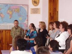 За сприяння Володимира Волковича у канівській школі з'явився мультимедійний клас