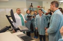Валентин Тарасенко взяв участь у відкритті лабораторії з діагностики вірусу ВІЛ/СНІД. Черкащина отримала ще один унікальний медичний заклад