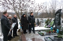У Каневі вшанували пам'ять героя-«кіборга» Анатолія Чупилка