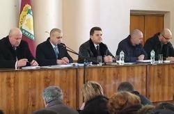 Обговорення питання створення госпітальних округів в Черкаській області на сесії Смілянської районної ради. 16.02.2017