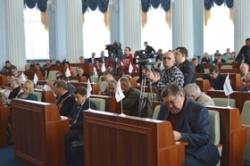 В роботі сесії обласної ради оголошено перерву. Продовження засідання заплановано на 5 квітня