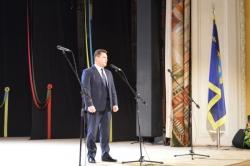 Олександр Вельбівець привітав учасників урочистого зібрання з Днем Соборності України