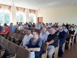 Депутати Катеринопільської районної ради розглянули ряд бюджетних і освітянських питань