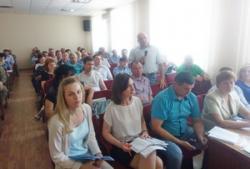 Проведено перше засідання 29-ої сесії Корсунь-Шевченківської районної ради