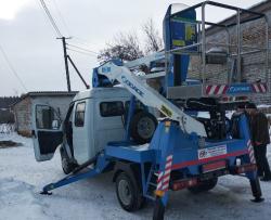 У Степанецькій громаді Канівського району придбали автопідйомник