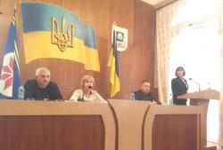 Голова  Маньківської районної ради прозвітувала про діяльність ради у 2018 році та окреслила пріоритети на 2019 рік