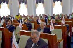 Розпочала роботу чергова сесія обласної ради