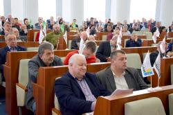 Фоторепортаж. Перше пленарне засідання  чергової сесії Черкаської обласної ради.