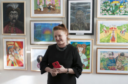 Обласну виставку образотворчого мистецтва присвячено 205-й річниці від дня народження Тараса Шевченка