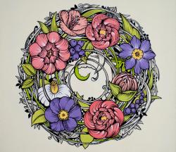 «Фантастичні квіти». Колективна виставка черкаських художниць