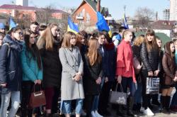 З нагоди 75-ої річниці звільнення Черкащини від нацистів покладено квіти до монументу Матері-Вітчизни на Пагорбі Слави