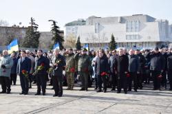 Фоторепортаж. Відзначення 75-ої річниці звільнення Черкащини від нацистів у роки Другої світової війни.