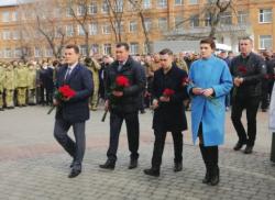 У обласному центрі відзначено День українського добровольця