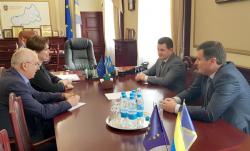 Керівники області окреслили шляхи співпраці із Державною казначейською службою