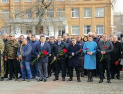 Фоторепортаж. Відзначення Дня українського добровольця.